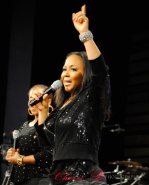 Mary Mary performs at Oasis Church